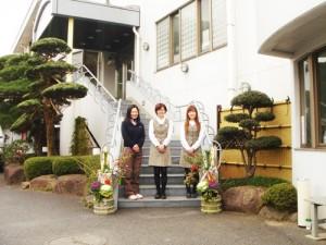 大森(マスター室)&豊島(フロント)&加藤(フロント)
