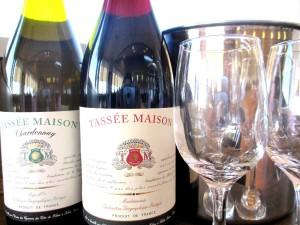 フランス産ワインです